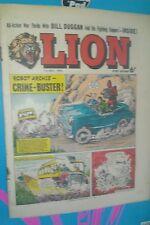 LION COMIC 1ST MAY 1965 1960S A CLASSIC GROUNDBREAKING UK COMIC