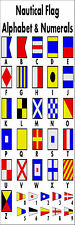 Nautical Alphabet Flags Bookmark