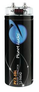 New Planet Audio PCBLK3.5 Digital 3.5 Farad Car Capacitor Audio Cap LED Voltage