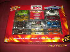 JL JOHNNY LIGHTNING  HEY THAT THINGS GOT A HEMI BOX OF 10