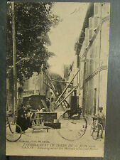 cpa 13 salon demenagement maisons tremblement de terre 11 juin 1909 catastrophe