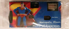 SUPERMAN DISPOSABLE CAMERA from Metropolis IL Home of Superman MIP