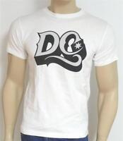 DC Shoes 3D Gothic Script Tee Mens White T-Shirt New NWT