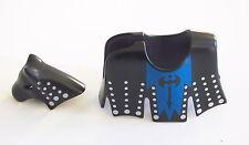 PLAYMOBIL (L5109) MOYEN-AGE - Parure Armure pour Cheval du Chevalier Noir 3315
