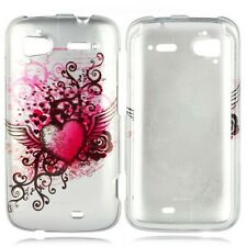 Grunge Heart Hard Case Phone Cover for HTC Sensation 4G