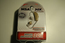 Sound Amplifier Ear Aid MSA30X Rapid Charger Rechargeable Seen On TV  wvwvwv1424