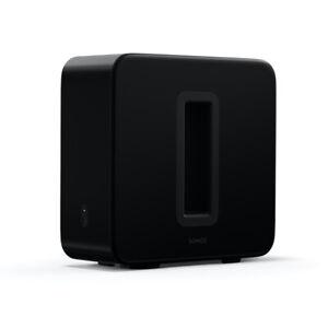 Sonos SUB (Gen:3) Wireless Subwoofer - Black - Wi-Fi - Deep Bass