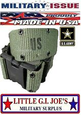 NEW USGI Medium Military Issue Pistol Belt Web Belt Individual Equipment Belt