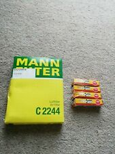 MANN C2244 Air Filter plus 4 x NGK TR5A-10 Spark Plugs
