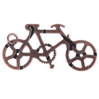 Bicycle Lock Toys Adult and Teenager Cast Metal Brain Teaser Puzzle Toy_QA