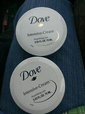 new lot of 2 dove intensive cream  nourishing care 2.53