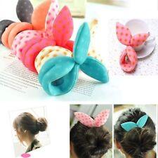 2pcs Magic Sponge Hair Styling Bun Maker Foam Sponge Curl Donut Twist Clips