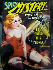 Spicy Mystery Stories Reprint October 1937 Adventure House