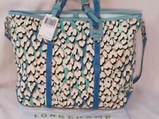 Longchamp Panther Teal Tote. Limited edition