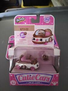 Shopkins Cutie Cars w/ Mini Shopkin QT2-22 Chase Cookie. Series 2.