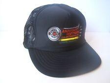 Anderson Brothers Truck Equipment Co Hat Vintage Black Snapback Trucker Cap