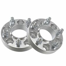 """(2) 1"""" inch Hubcentric 5x4.75 Wheel Spacers Adapters 66.9mm Hub Bore 