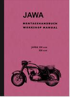 Jawa 250 350 ccm 353 354 Reparaturanleitung Werkstatthandbuch Shop Repair Manual