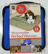 "K&H PET PRODUCTS 3111 Blue MICROWAVABLE PET BED WARMER BLUE 9"" X 9"" X 2"""
