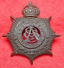 Australian Army Service Corps Hat Oxidized Hat Badge 1930 to 42