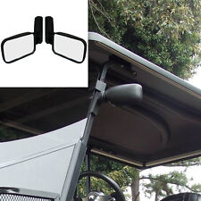 Adjustable Side View Wing Mirror For Golf Cart Club EZGO Yamaha VW Buggy Rail