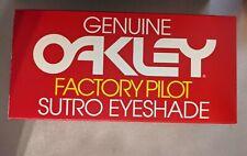 Oakley Sutro Eyeshade Factory Pilot Concept Studio Prologue 002 LIMITED EDITION