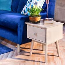 Edvard Olsen Oak Lamp table.Sofa Table with 1 drawer in Light Oak. Quality
