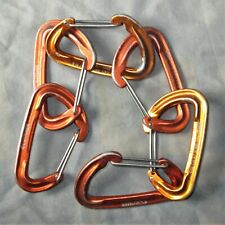 6 CT & Cypher Wiregate Climbing Carabiners lead trad sport top rope carabiner
