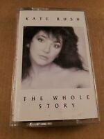 Kate Bush : The Whole Story : Vintage Tape Cassette Album from 1986