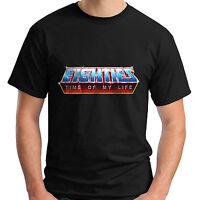 EIGHTIES MOTU Masters Of He-Man The Retro Universe Men's Black T-Shirt S-5XL