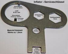 Edelstahl Inflator Tool Werkzeug für Inflator und Handrad - NEU