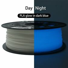 CCTREE 3D Printer Filament 1.75mm PLA 1kg for Creality CR-10 Glow In Dark Blue