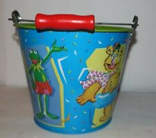 Sand Pail Muppets Kermit The Frog And Fozzie Bear Mint Condition Schylling