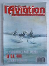 Le fana de l'AVIATION  N° 218 /POTEZ 75/HAWKER TEMPEST/SE 400/MD 320 hirondelle