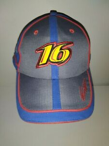 NASCAR Racing US Army National Guard Roush 16 Greg Biffle Chase Authent Hat Cap