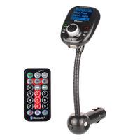 F01D LCD KFZ MP3 Player FM Transmitter Bluetooth Freisprechanlage TF USB Auflade