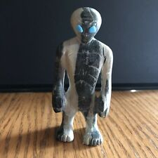 Serpentine Alien Zuni Fetish Turquoise Eyes by Cody Nastacio