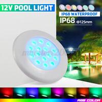 12V IP68 15 LED RGB Underwater Swimming Pool Spa Light Fountain Lamp Decoration