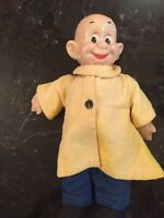 "VTG 1930's DOPEY 12 "" COMPOSITION DOLL BY IDEAL"