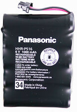 Panasonic HHR-P516 34 Ni-MH CORDLESS PHONE BATTERY 5.8CHz 6V/1H 1000mAh KXTG4500
