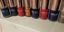 8 Nails Inc Nail Polishes, 10ml, New
