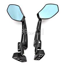 Black Rearview Side Mirrors For YAMAHA YZF 600 1000 R1 R6 S FZ6 FZ1 FZ6R