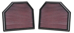 K&N Hi-Flow Performance Air Filter 33-2488 fits BMW M Series M3 (F30,F35,F80)...