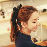Girl Bow Elastic Hair Band Rope Scrunchie Fashion Ponytail Accessories Ring S2V6