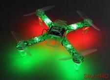 RC FPV250 V4 Green Ghost Edition LED Night Flyer FPV Quad Quadcopter UK Seller
