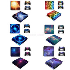 Nebular Galaxy Console Skin Stickers Decals Covers Wrap for Playstation PS4 Slim