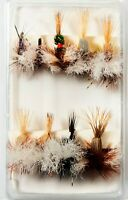 Wulff's Fly Fishing Flies - 8 Piece Assortment 	NP-25 Flies