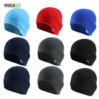 Fleece Thermal Hat Winter Warm Skating Cycling Skiing Outdoor Sports Cap Elastic