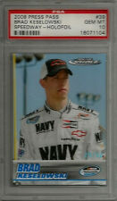 2008 Press Pass Speedway Holofoil #39 Brad Keselowski RC PSA 10 GEM MINT #rd /50