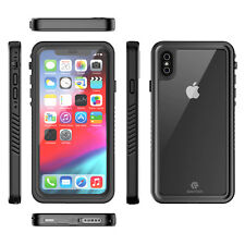 For iPhone XS Max XR X Case Waterproof Shockproof Protective Defender Slim Cover